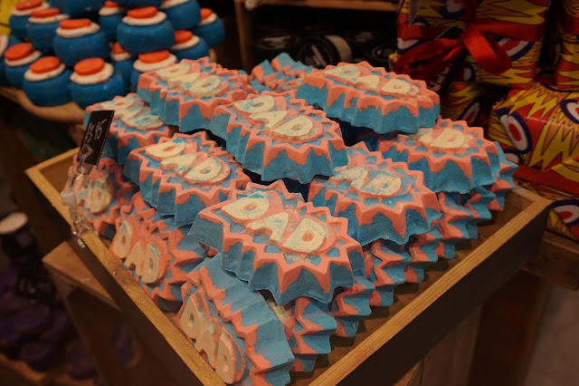 LUSH Belfast: Fathers Day Blogger Launch Superdad Bath Bomb