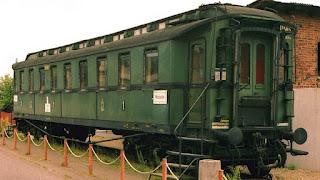El vagón verde de los ferrocarriles alemanes, un objeto para la historia.