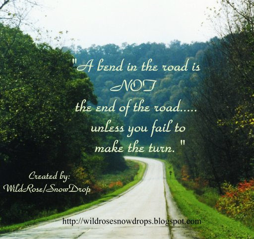 My Poems, Recipes, English & Sinhala Lyrics, Quotes     : A Bend in