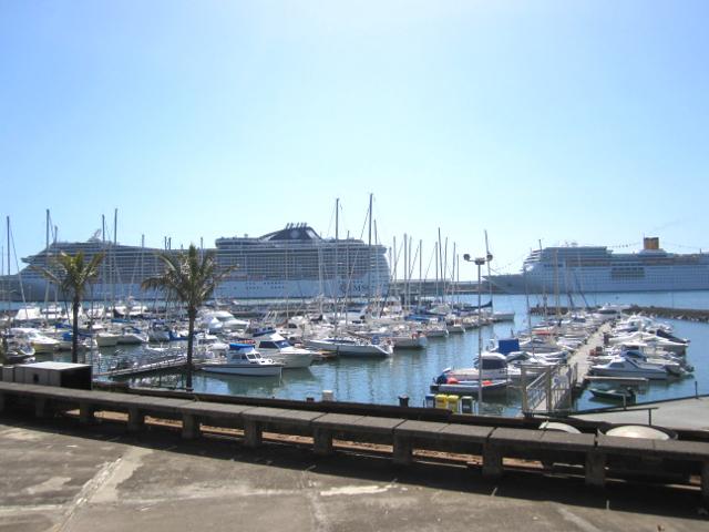 Funchal harbor Madeira