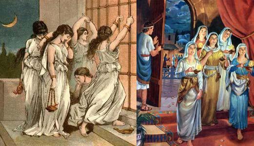 Pismo św.: SŁOWA EWANGELII w/g św. MATEUSZA 25,1 - 13