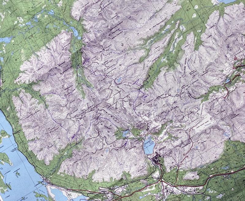 хибины карта нитка маршрута