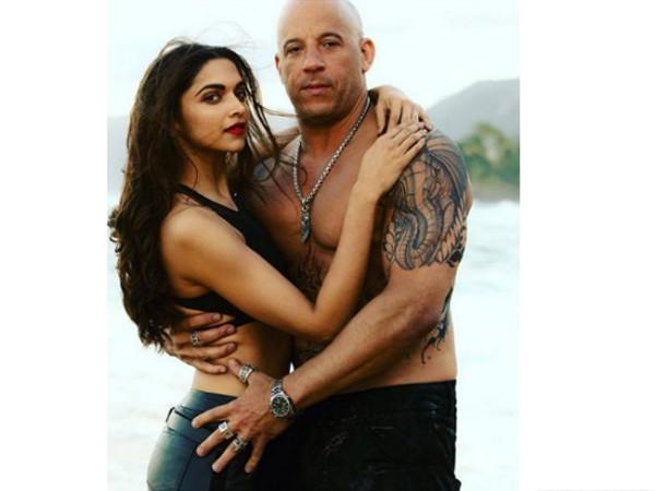 Sizzling Deepika with Vin Diesel in xXx: Return of Xander Cage