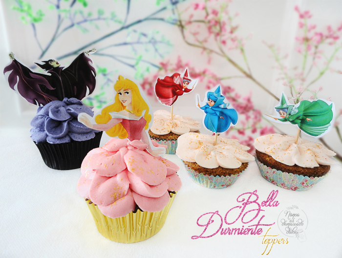 cupcakes-cupcake-bella-durmiente-sleeping-beauty-free-printable-topper