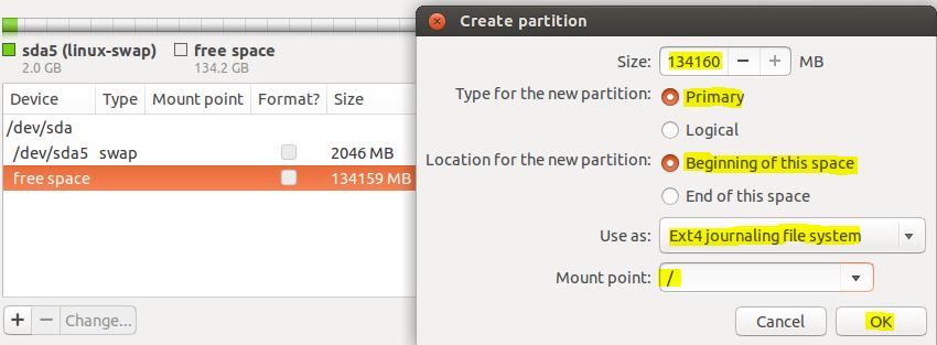cara instal linux ubuntu di virtual box