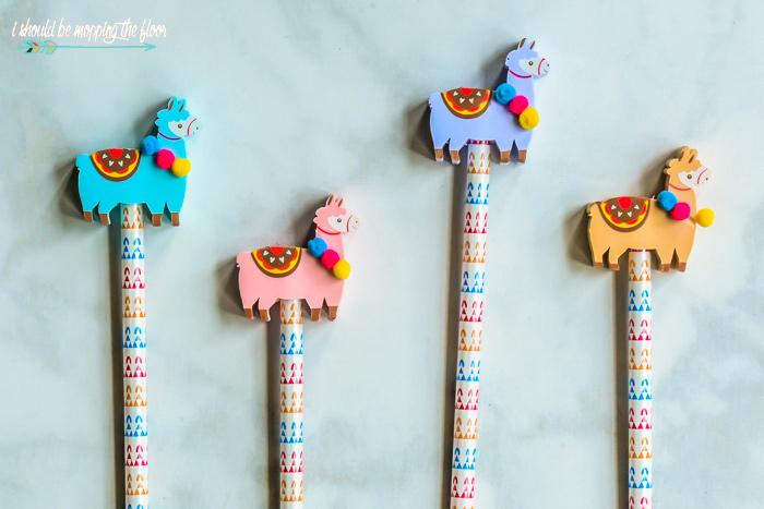 Llama Pencils