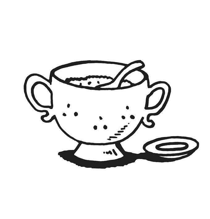 14 Mewarnai Gambar Nasi Putih Terbaru Lingkar Png