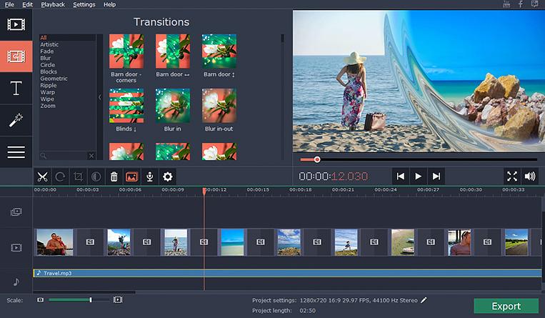 برنامج عمل فيديو من الصور مع اغنيه للكمبيوتر Movavi Photo Slideshow Maker 2018 برامج العرب تحميل برامج مجانية