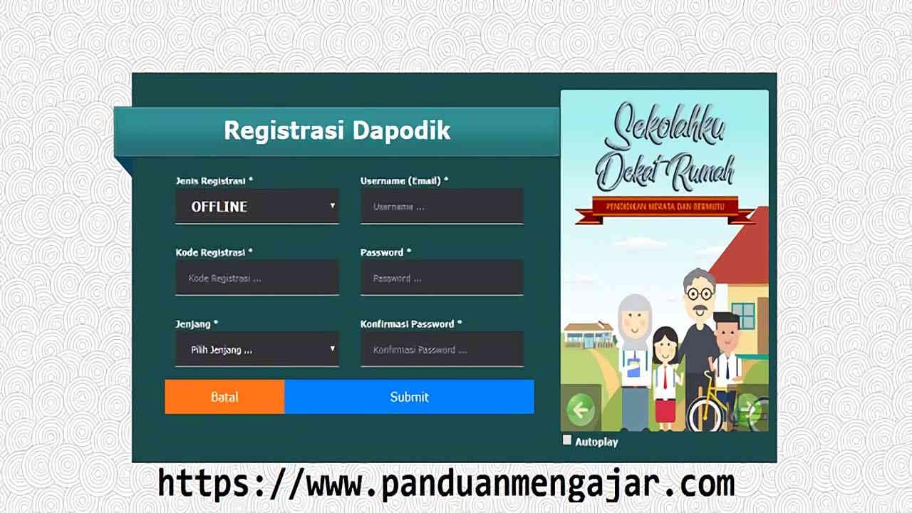 Registrasi Dapodik 2018b