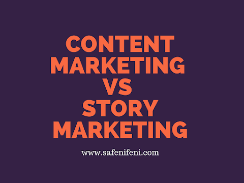 CONTENT MARKETING VS STORY MARKETING