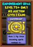 Empowerment - Wizard101 Card-Giving Jewel Guide