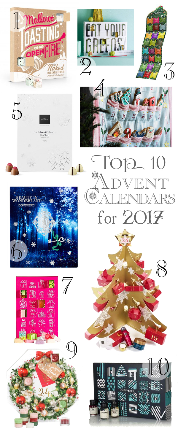 10 best advent calendars for 2017 a blackbird 39 s epiphany. Black Bedroom Furniture Sets. Home Design Ideas