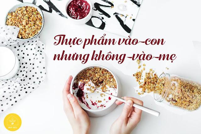 9 Loại thực phẩm Bà Bầu nên ăn để vào con không vào mẹ