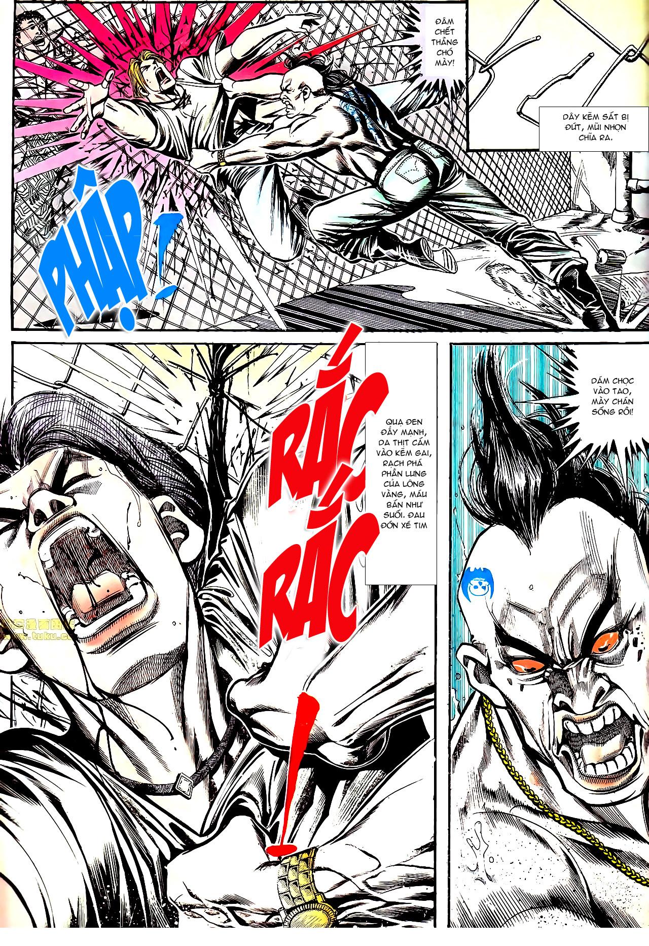 Người Trong Giang Hồ chapter 154: nam đẹp trai trang 8