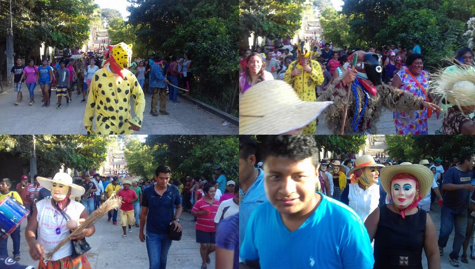 El jardin de la republica carnaval en cacahuatepec oaxaca for Al jardin de la republica