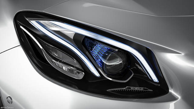 New 2018 Mercedes-AMG E 63 S 4MATIC+ front Headlamp