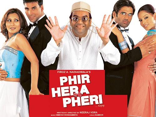 Phir Hera Pheri (2006) Movie Poster