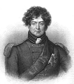 George, Prince of Wales  from La Belle Assemblée (1830)