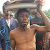 Man accused of being a Wizard, attacked by youths in Abia (photos)