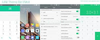 IUNI Theme for Huawei EMUI 3.0/3.1