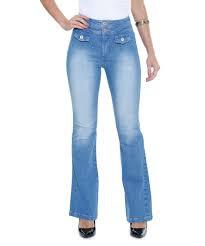 calça cintura alta skinning