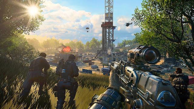 الإعلان عن التحديث الأول للعبة Call of Duty : Black Ops 4 و هذه بعض مميزاته..