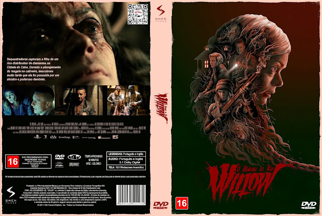 Capa DVD O Demônio da Rua Willow [Exclusiva]