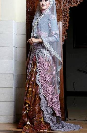 model kebaya brokat muslim trendy