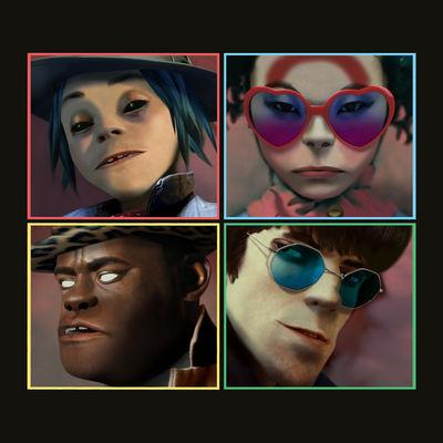 Gorillaz - Humanz (Deluxe) - Album Download, Itunes Cover, Official Cover, Album CD Cover Art, Tracklist
