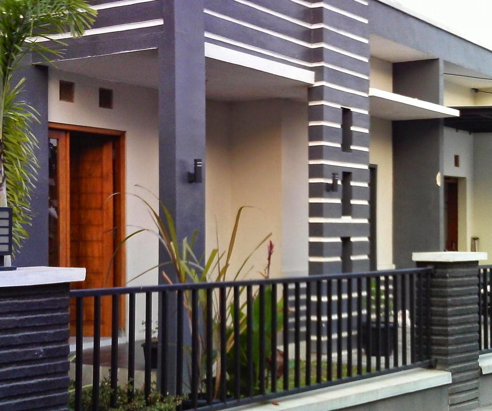 15 Model Desain Teras Rumah Cor Minimalis Terbaru dan