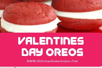Valentines Day Oreos #valentine #oreo