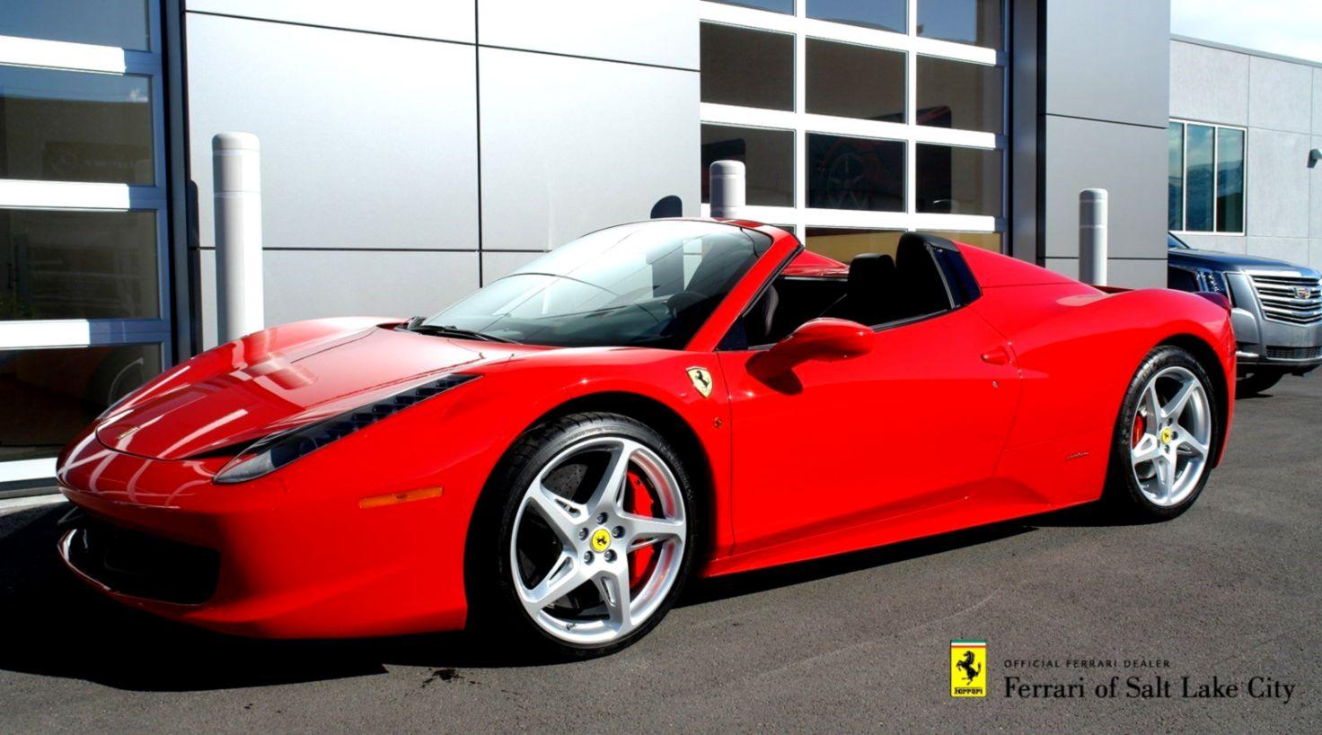 innovative design 208c2 13b25 Certified Pre Owned 2014 Ferrari 458 Spider Convertible 1KU0310