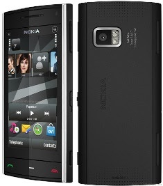 Nokia X6 8GB kamera 5 MP