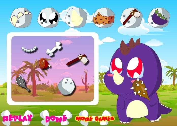 Baby Dino Spiel 1