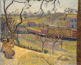 Early Spring. Little Fauns by Pierre Bonnard - Landscape Paintings from Hermitage Museum