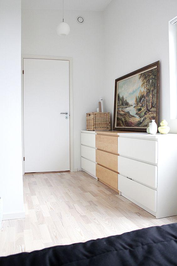 Inspiracion decora con la comoda malm de ikea - Ikea malm comoda ...