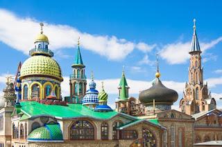 Tempat Wisata Terkenal di negara Rusia