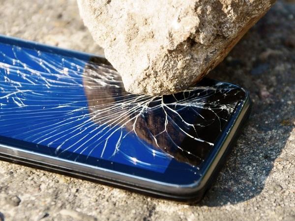 Vỡ mặt kính Samsung Galaxy S5