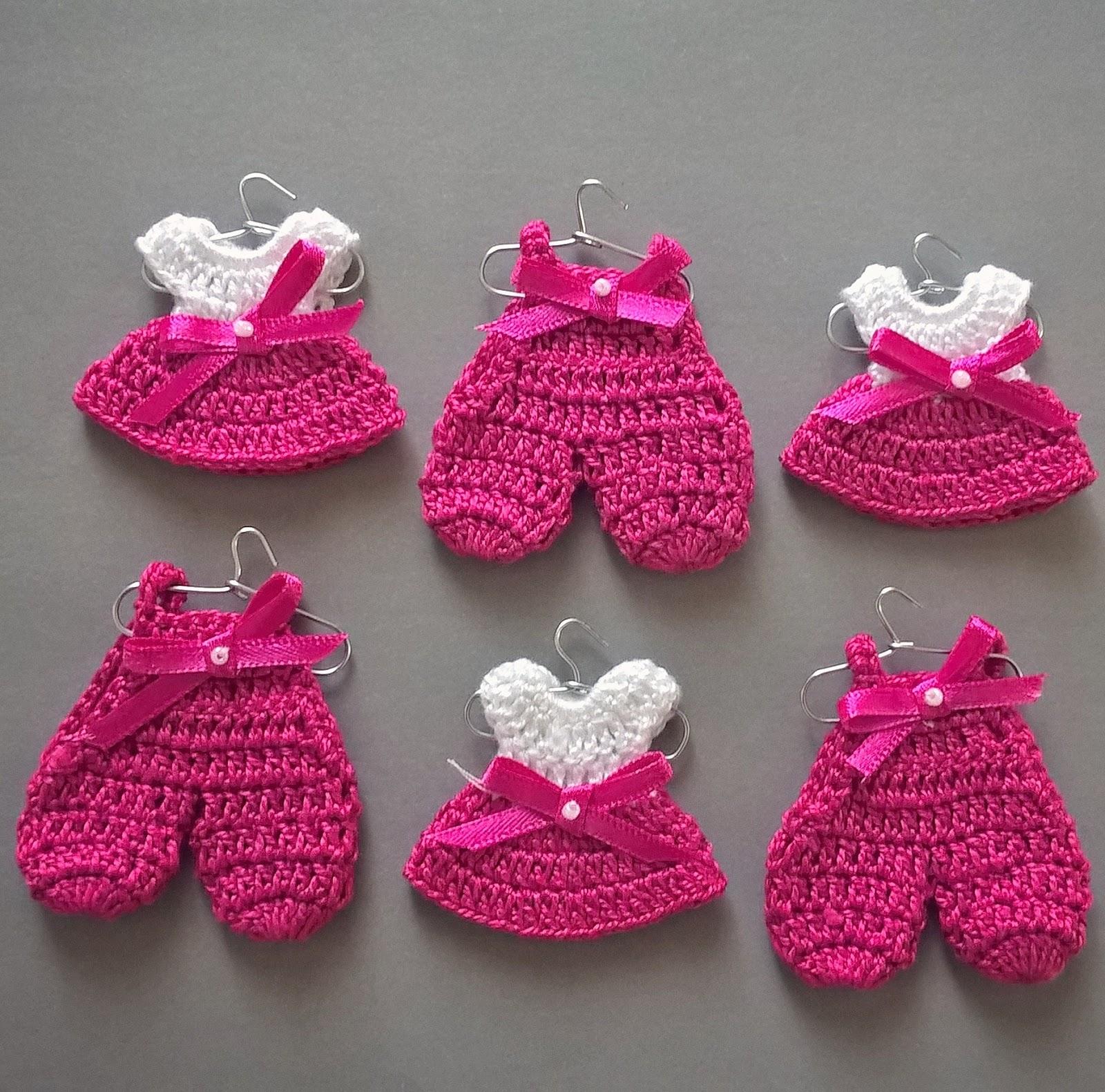 Solo esquemas y diseños de crochet: VESTIDITOS MINIATURAS PASO A ...