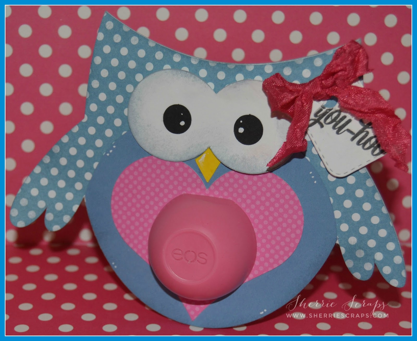 The Cute Sentiment Is From Jaded BlossomYoure A Hoot Stamp Set And Stamped Onto Tag Mini Dies