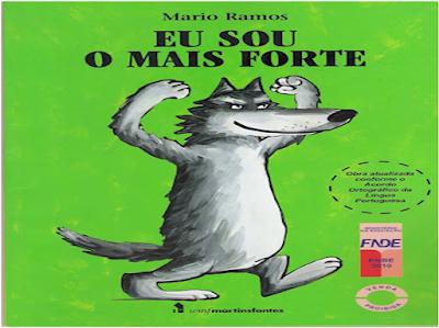 Capa do livro EU SOU MAIS FORTE, de Mário Ramos