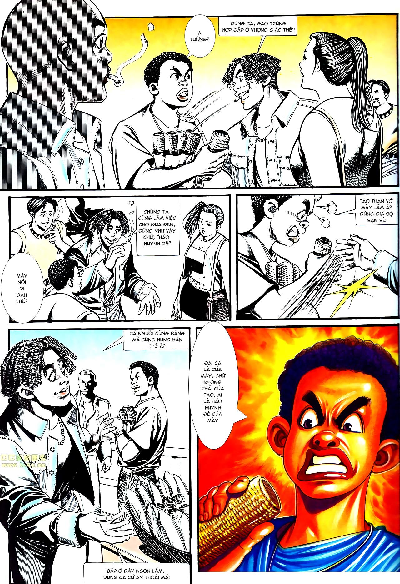 Người Trong Giang Hồ chapter 152: trăng sáng chiêm đông trang 7
