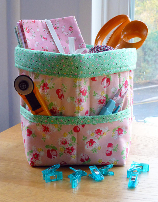 Storage Caddy Free Quilt Pattern