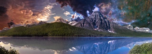 Landscape of Banff