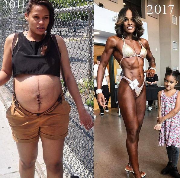 Transformation sexy