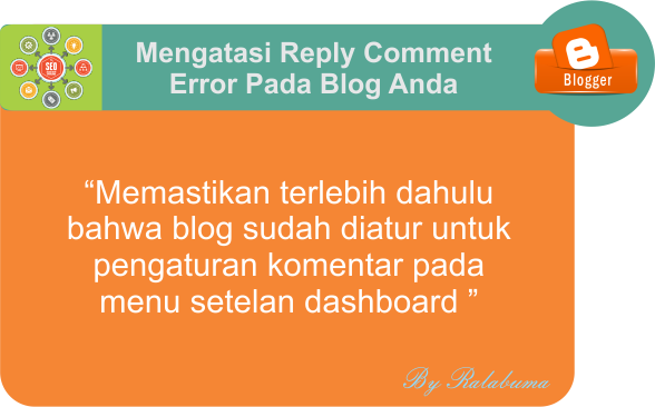 Mengatasi Reply Comment Error Pada Blog Anda