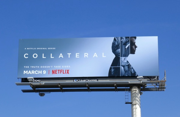 Collateral series launch billboard