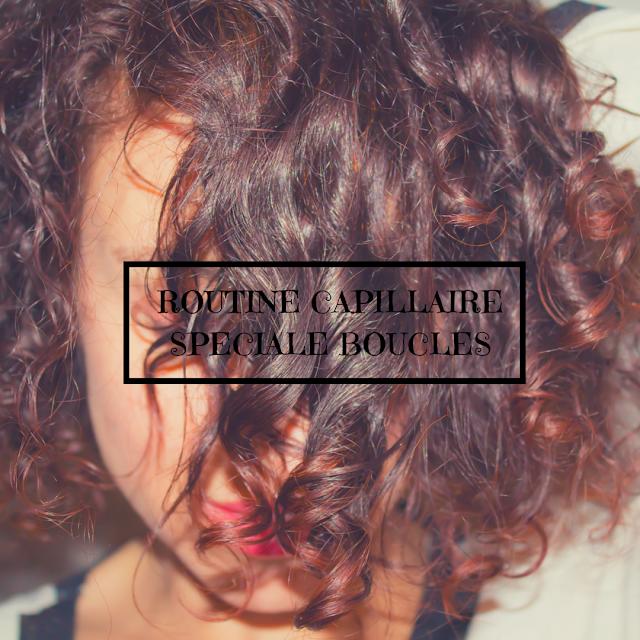 routine capillaire cheveux boucles