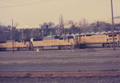 Union Pacific SD60 6011