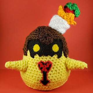 PATRON GRATIS STRAWBERRY FLAN | KINGDOM HEARTS AMIGURUMI 32637